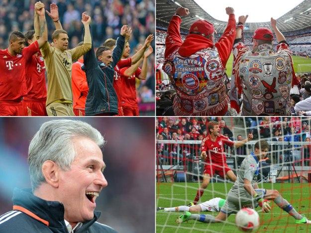 Bayern Campeon de la Bundesliga