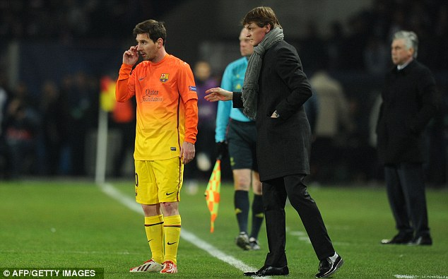 Y se le complica la vida al Barcelona, Messi 3 semanas OUT