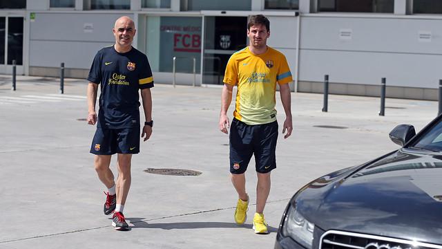 Messi se perderia el partido frente al Mallorca