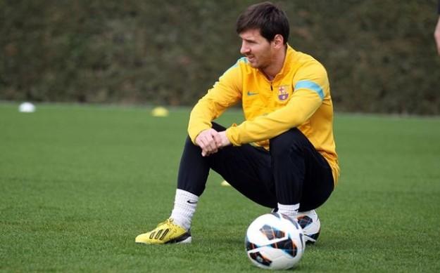 Messi no seria titular el Miercoles