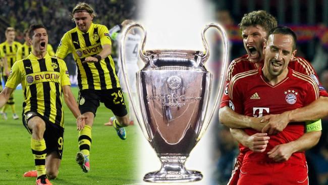 La Final de la Champions BVB vs Bayern Munchen