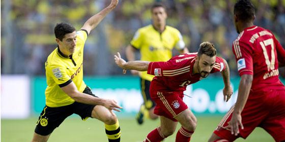 Borussia vs Bayern Munchen