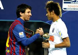 Neymar eligio al Barca
