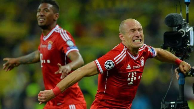 Robben decide la Champions