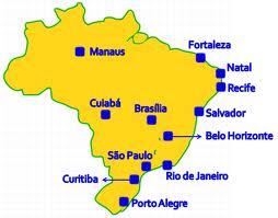 Aqui estan las primeras 10 Selecciones que estaran en Brasil