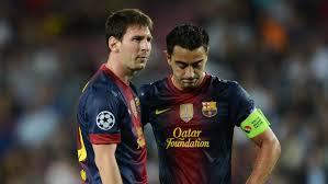 Levante de Messi a lo Xavi