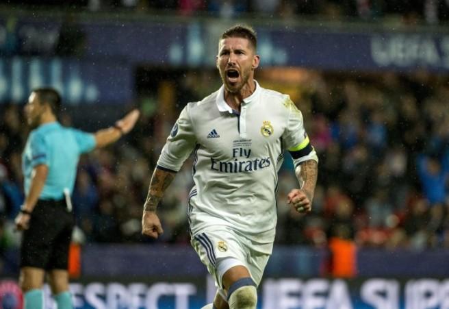 Sergio Ramos gol vs Sevilla, minuto 93